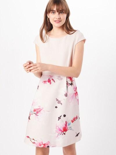 COMMA Kleid in mischfarben / rosé, Modelansicht