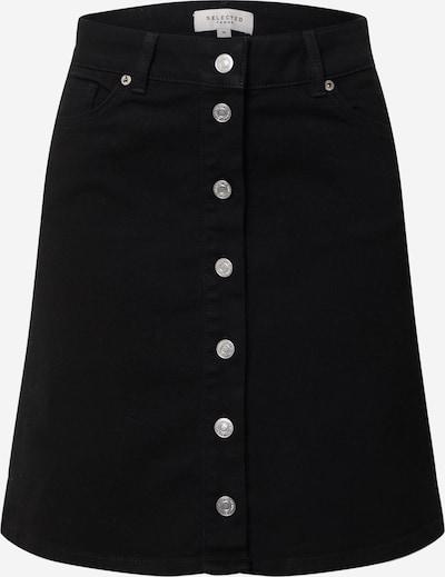 SELECTED FEMME Jeans-Rock 'SLFROSE' in schwarz, Produktansicht
