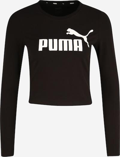 PUMA Shirt in schwarz / weiß: Frontalansicht