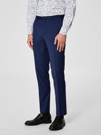 SELECTED HOMME Anzughose in blau, Modelansicht