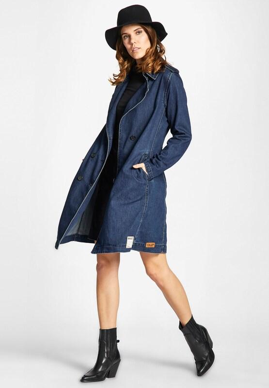 Khujo Mantel 'AROHA JUST DENIM' in Blau denim  Neue Neue Neue Kleidung in dieser Saison 202195