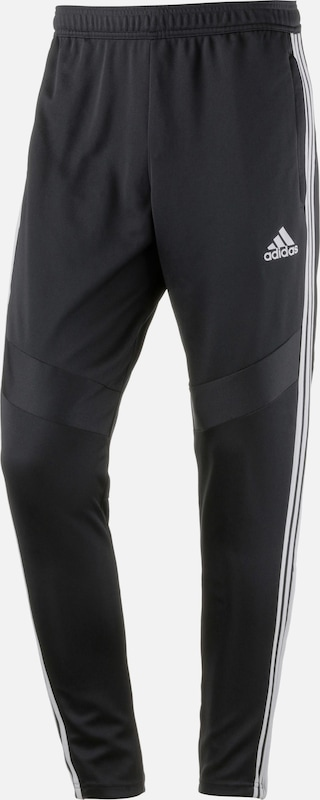 ADIDAS PERFORMANCE Sportbroek 'Tiro 19' in de kleur Zwart / Wit, Productweergave