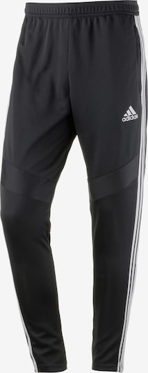 ADIDAS PERFORMANCE Sportbroek 'Tiro 19' in de kleur Zwart / Wit, Productweergave
