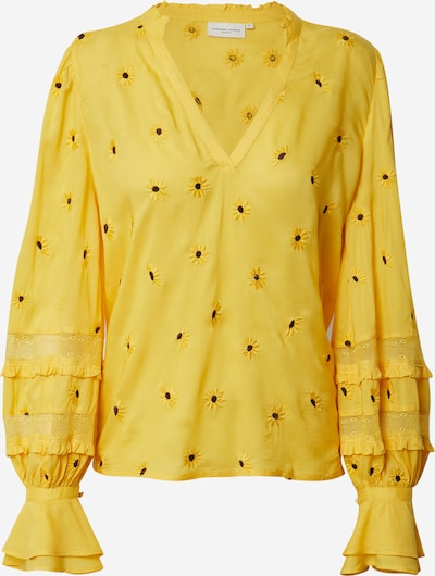 Fabienne Chapot Bluse 'Cleo' in dunkelgelb, Produktansicht