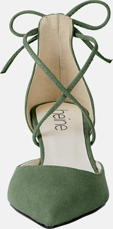 Heine Pumps With Lacing
