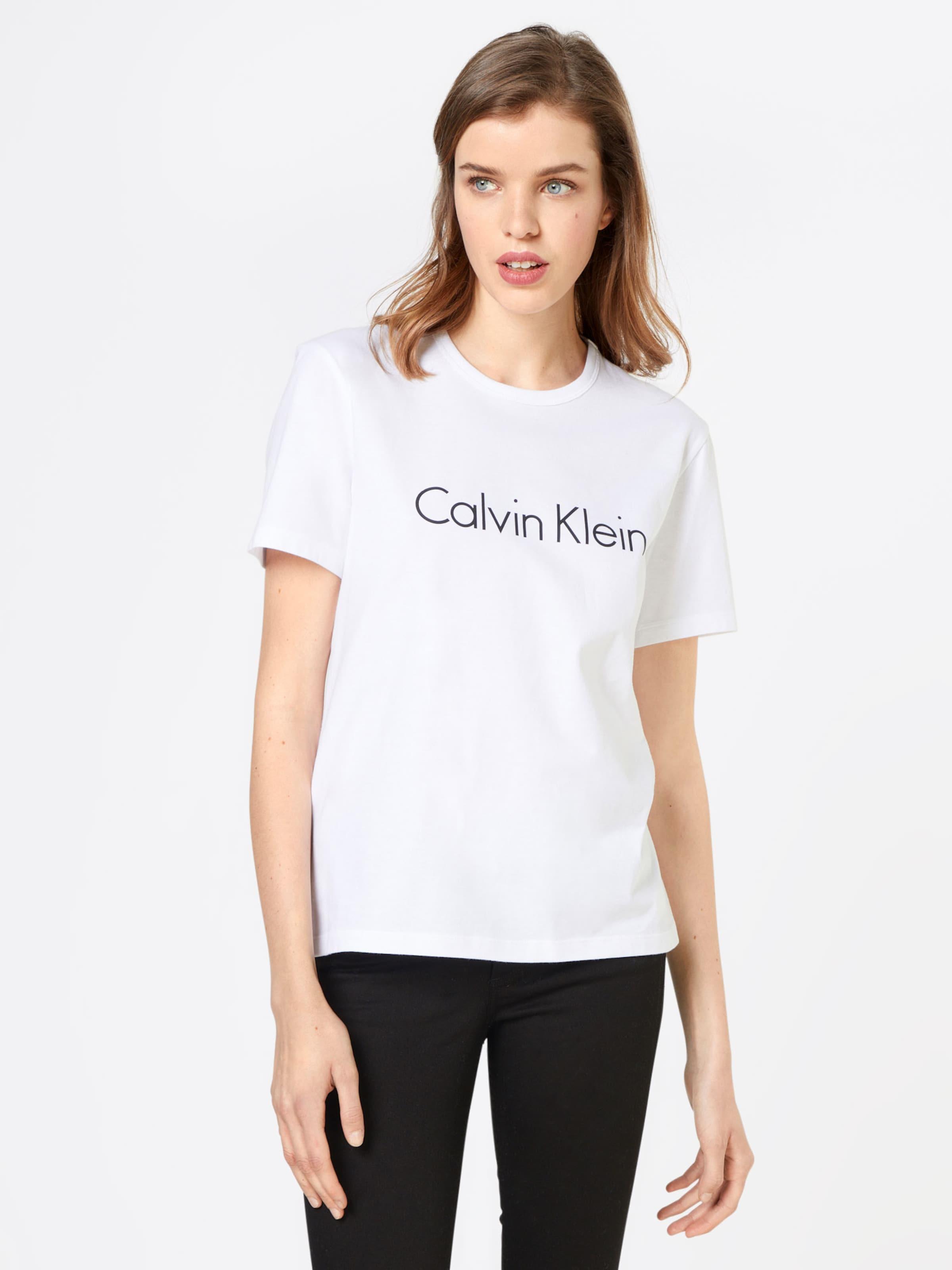 SchwarzWeiß Klein Shirt 'crew' Calvin In Underwear eHIbEDW29Y