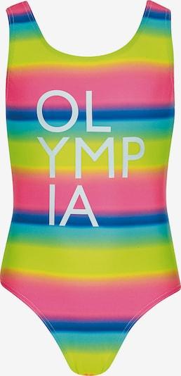 OLYMPIA Badeanzug in blau / gelb / pink, Produktansicht