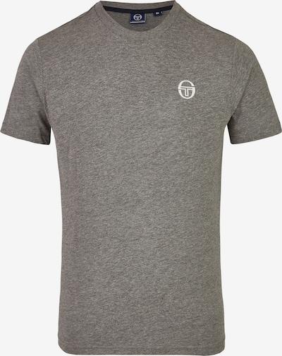 Sergio Tacchini Sportshirt in graumeliert / weiß, Produktansicht