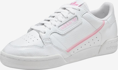 ADIDAS ORIGINALS Baskets basses 'Continental 80' en rose / blanc, Vue avec produit