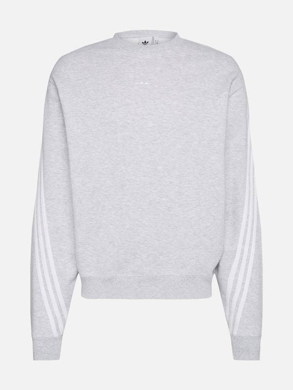 ADIDAS ORIGINALS 3 Streifen Wrap Sportmode Pullover in grau
