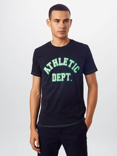 Hailys Men T-Shirt 'Greenery' in schwarz: Frontalansicht