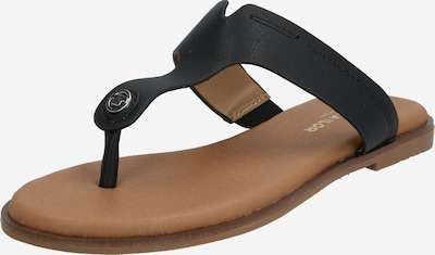 TOM TAILOR Žabky - čierna, Produkt