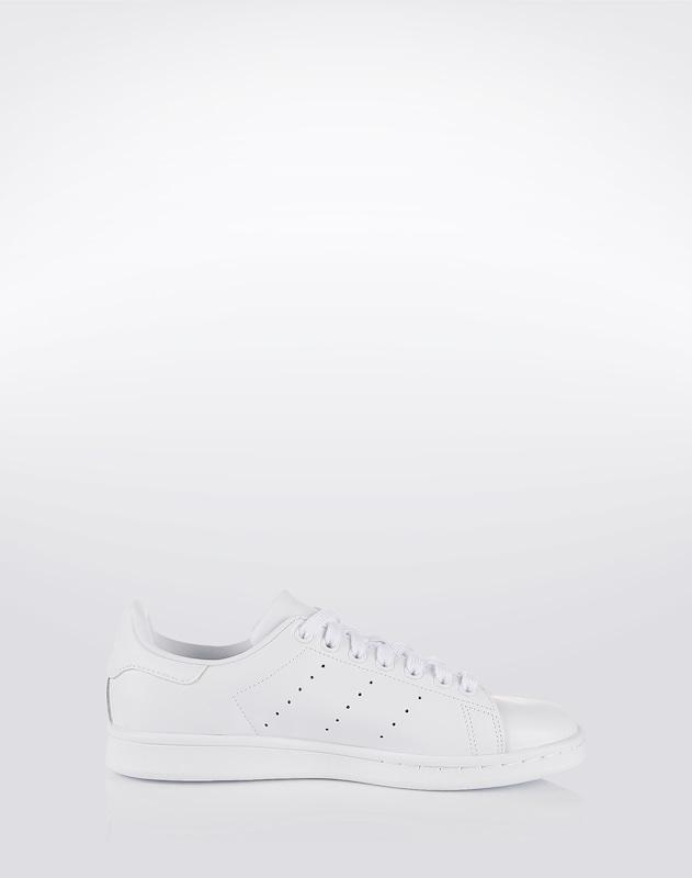 ADIDAS ORIGINALS Flacher Sneaker aus Leder 'Stan Smith'