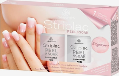 alessandro INTERNATIONAL Nagellack 'Striplac Peel or Soak Babyboomer Set' in rosa, Produktansicht