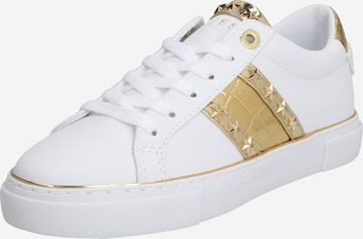 GUESS Sneaker 'GRAYZIN' in gold / weiß, Produktansicht