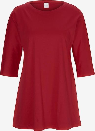 heine Longshirt in rot, Produktansicht