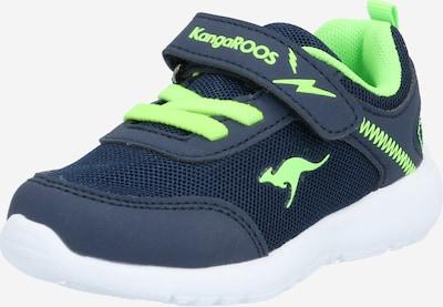 KangaROOS Sneakers in blau / hellgrün, Produktansicht