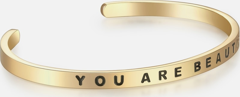 Nahla Jewels Armband Bangle mit YOU ARE BEAUTIFUL-Gravur