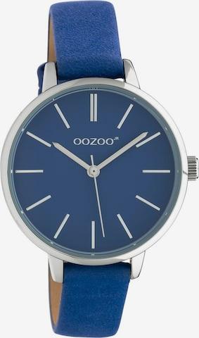 OOZOO Analoguhr in Blau