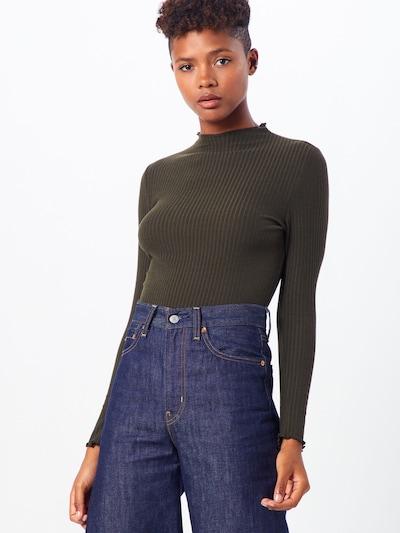 ONLY Pullover 'EMMA' in oliv, Modelansicht