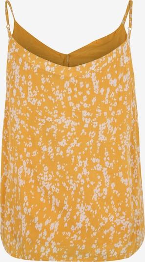 ABOUT YOU Curvy Top 'Athina' in de kleur Geel / Wit: Achteraanzicht