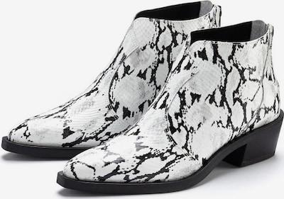 LASCANA Stiefelette in schwarz / weiß, Produktansicht