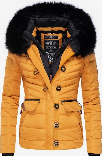 MARIKOO Winterjacke 'Yunaa' in gelb, Produktansicht
