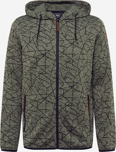 ICEPEAK Sweatshirt 'PONNER' in oliv / schwarz, Produktansicht