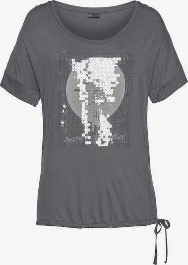 LAURA SCOTT Shirt in dunkelgrau, Produktansicht