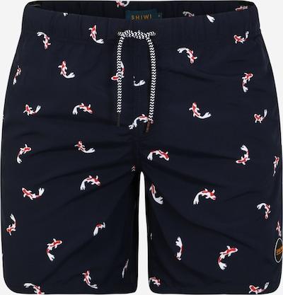 Shiwi Shorts de bain en bleu marine, Vue avec produit