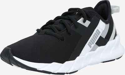 PUMA Sportschuh in silbergrau / schwarz / weiß, Produktansicht