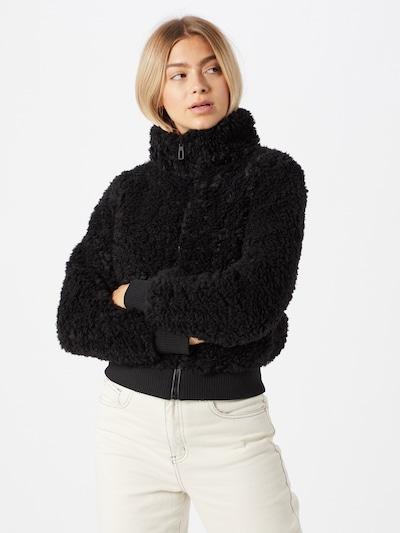 ONLY Prehodna jakna 'Ellie' | črna barva, Prikaz modela