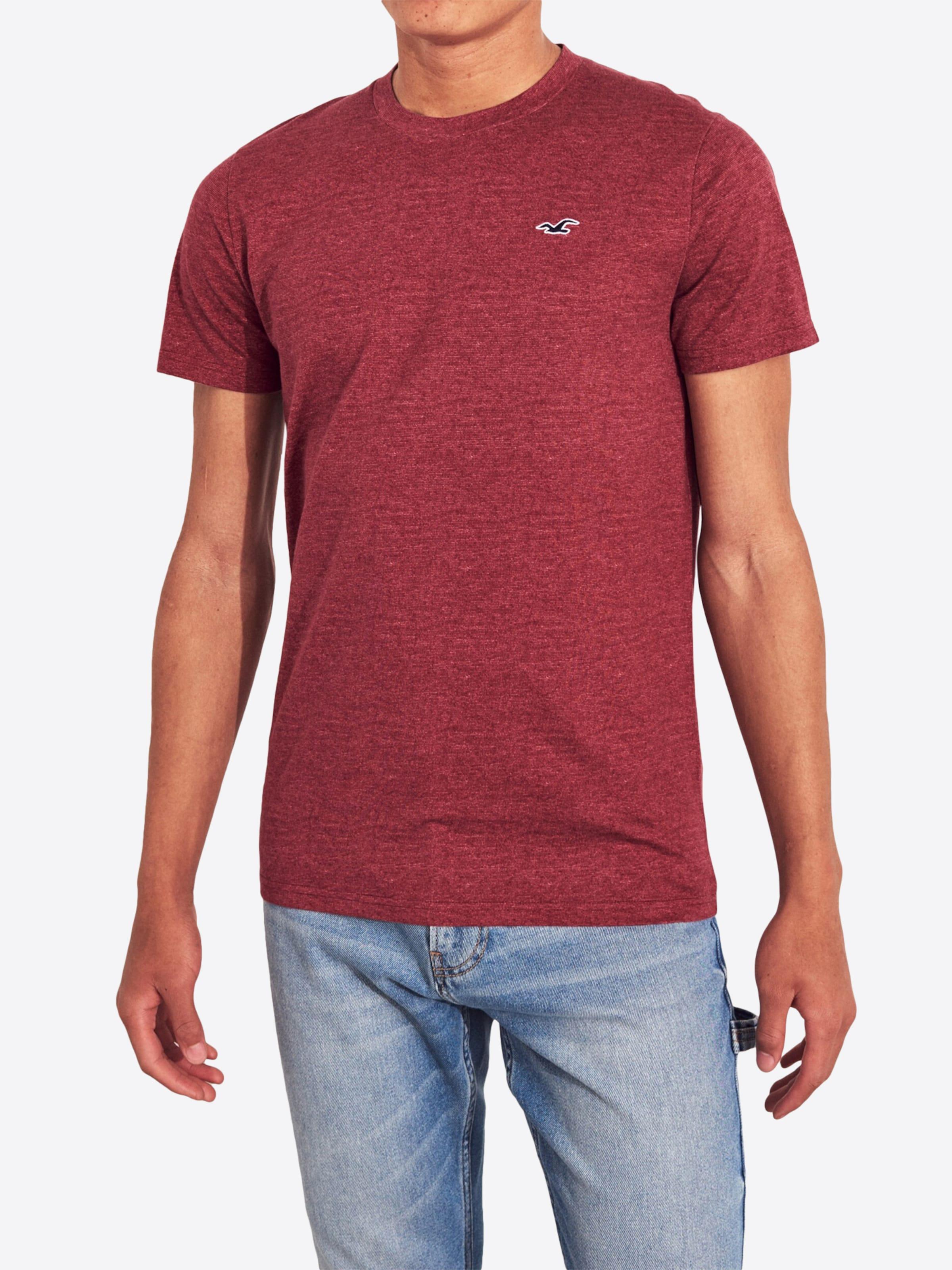 Hollister Burgunder T In shirt T Hollister kXuTwOZPi