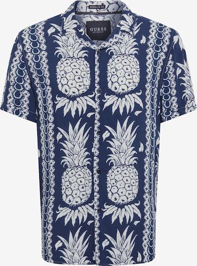 GUESS Hemd 'HAWAIAN' in dunkelblau / weiß, Produktansicht