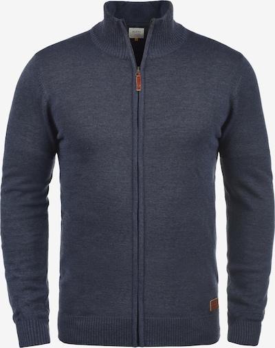 BLEND Strickjacke 'Norman' in blau / navy, Produktansicht