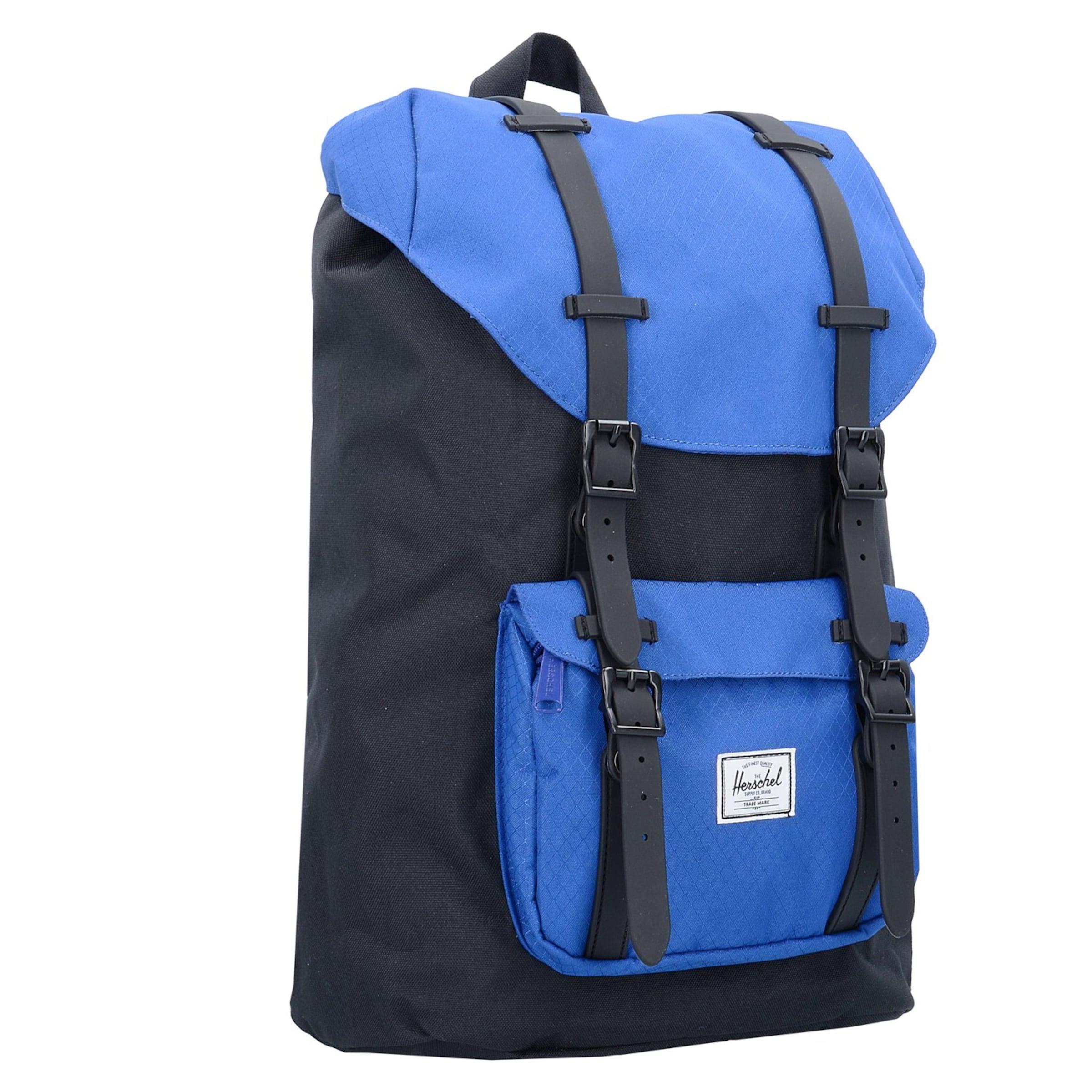 17 In Volume Backpack' Mid 'little I Herschel BlauSchwarz Mit Laptopfach Rucksack America K1cFJl