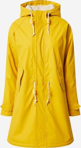 Derbe Jacke 'Travel Cozy Friese RC' in Yellow
