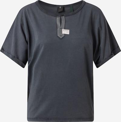 G-Star RAW T-shirt 'Joosa R T' en anthracite: Vue de face