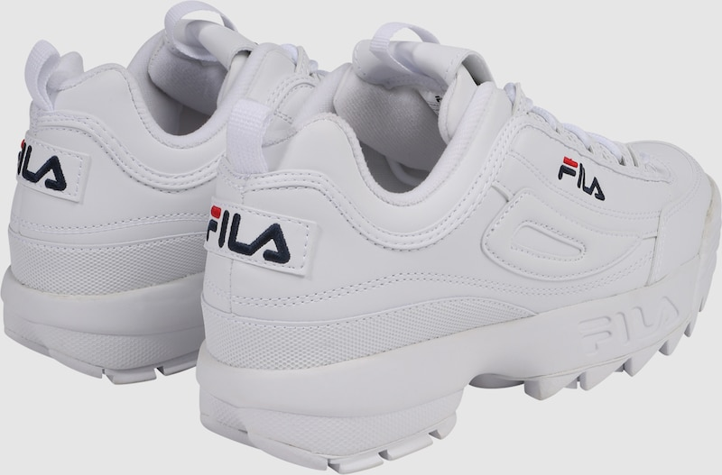 e372133008 FILA Rövid szárú edzőcipők 'Disruptor' fehér színben | ABOUT YOU