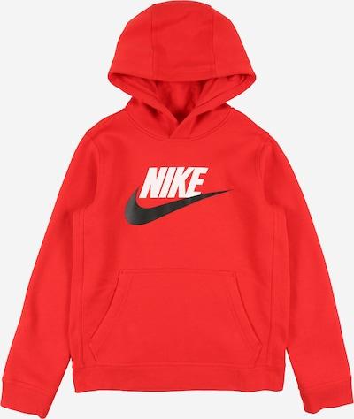 Nike Sportswear Mikina 'CLUB' - červené: Pohľad spredu