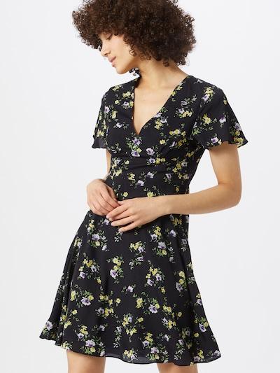 ABOUT YOU Letní šaty 'Juna' - námořnická modř / žlutá / zelená, Model/ka
