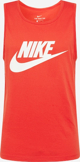 Nike Sportswear Majica u crvena / bijela, Pregled proizvoda