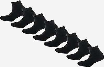 s.Oliver 8 Paar Socken in schwarz, Produktansicht