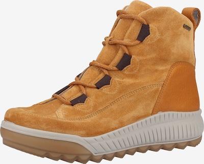 Legero Veterlaarsjes in de kleur Geel / Wit, Productweergave