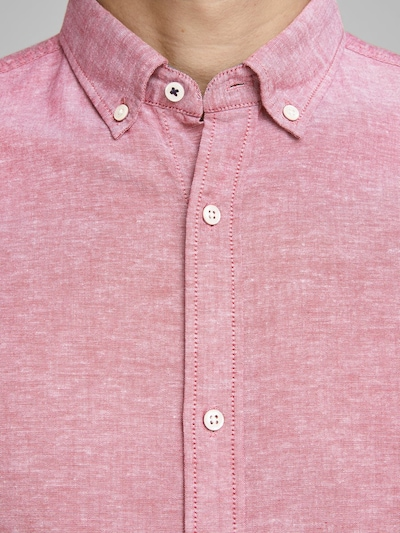 JACK & JONES Košulja u svijetlocrvena: Prednji pogled