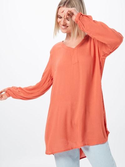 Kaffe Tunika 'Amber' in orange, Modelansicht