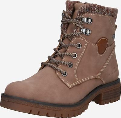 TOM TAILOR Šněrovací boty - světle hnědá, Produkt