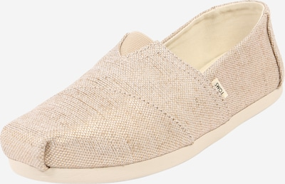 Espadrilės 'ALPARGATA' iš TOMS , spalva - smėlio / rožinė, Prekių apžvalga