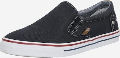 MUSTANG Slipper in schwarz, Produktansicht