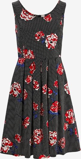 heine Prinzesskleid in blau / rot / schwarz, Produktansicht